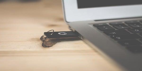 Clé USB non détectée
