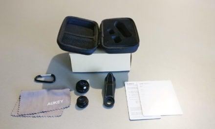 Test : Lentille smartphone 3 en 1 de chez AUKEY