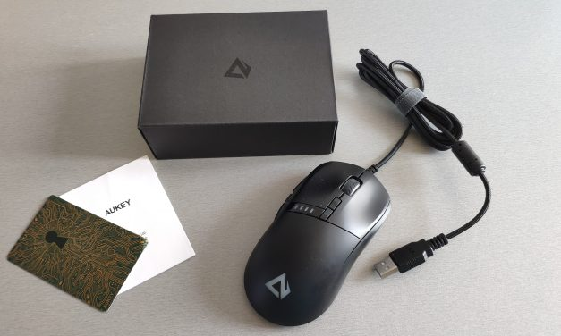 Test : Souris Gamer GM-F4 – AUKEY